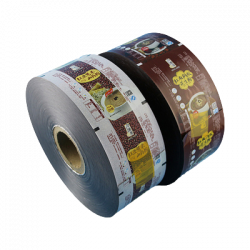 Color packaging film roll